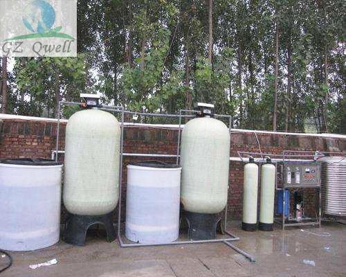 贵州5t/h锅炉用水新宝5app下载,全自动软水器软水机