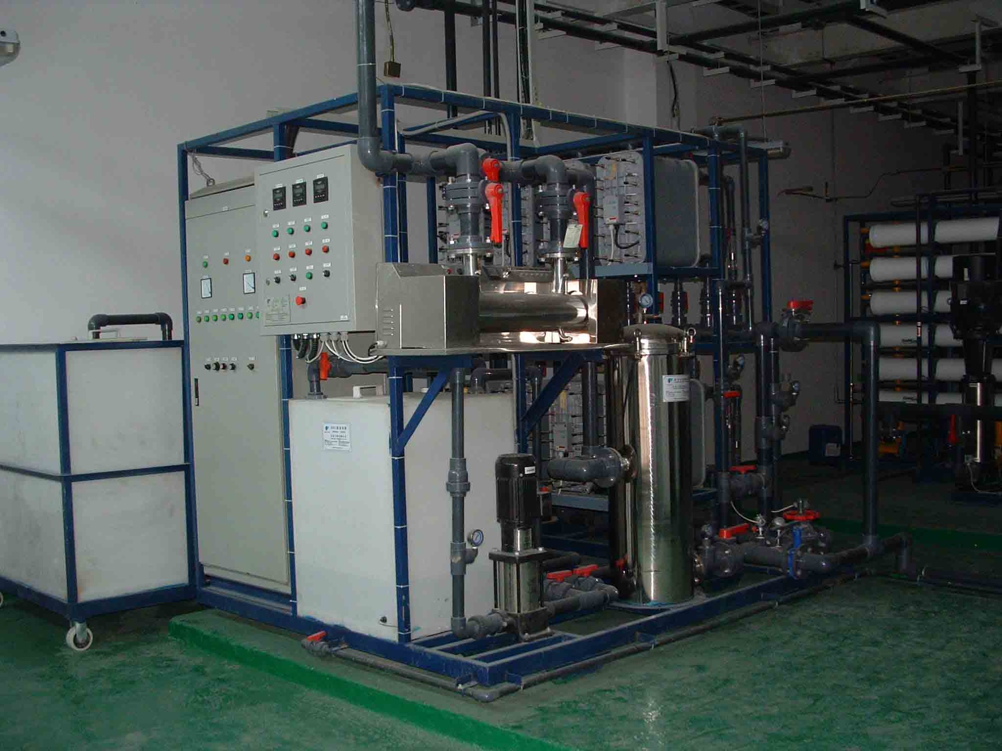 EDI电除盐装置,超纯水制取系统